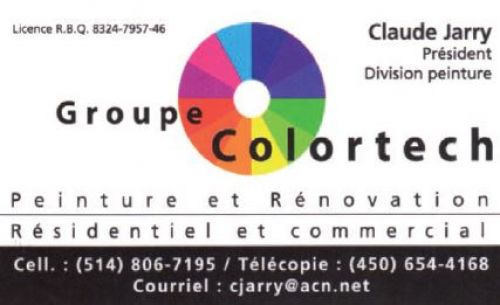 Groupe Colortech à Laval